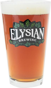 Elysian Hops Pint Glass