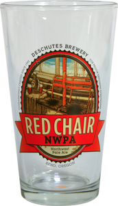 VINTAGE Pint Glass: Red Chair NWPA