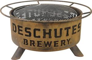 Deschutes Brewery Metal Fire Pit