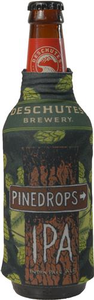 Beer Logo Bottle Koozie: Pinedrops IPA