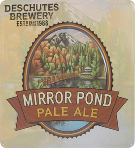 VINTAGE Metal Tacker: Mirror Pond Pale Ale