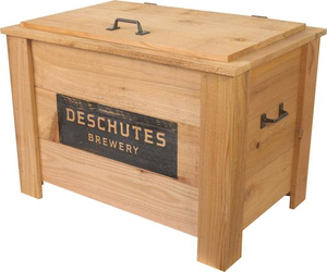 Deschutes Brewery Wooden Box Cooler
