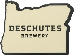 "Deschutes Brewery 3.5"" Sticker - OR State"