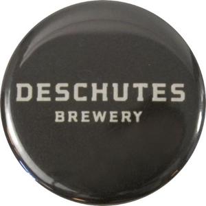 """Deschutes Brewery 1.25"""" Button - Wordmark"""