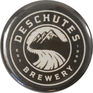 "Deschutes Brewery 1.25"" Button - Circle Logo"