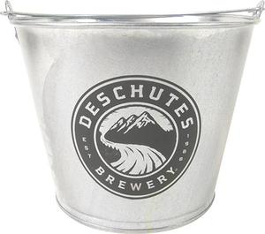 Deschutes Brewery 6-Bottle Galvanized Bucket