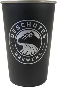 Deschutes Brewery Stainless Steel Pint