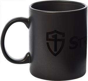Black-on-Black Logo Mug