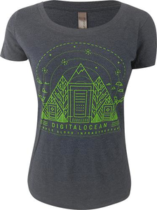 Limited Edition - Ladies Canada Datacenter Launch Tee