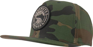 Deschutes Brewery Snapback w/ Circle Patch - Flat Bill
