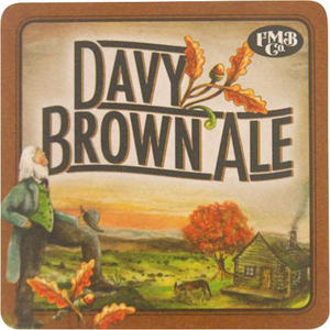 Davy Brown Ale Coaster