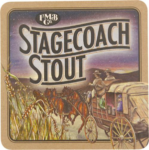 Stagecoach Stout Coaster