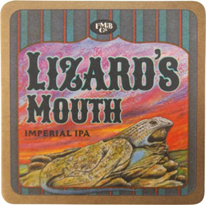 Lizard's Mouth Coaster