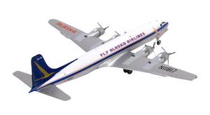 Gemini Jets Diecast Douglas DC-6 1/400 Fly Alaska Airlines