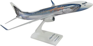 Skymarks Snap Together B737-800 1/130 Salmon-Thirty-Salmon
