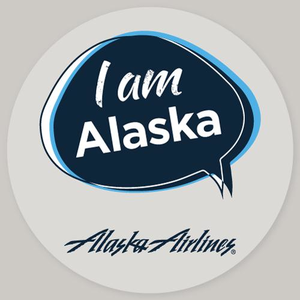 I am Alaska Static Cling