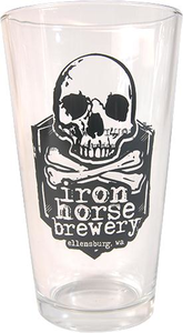 Iron Horse Brewery Pint Glass