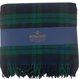 Pendleton Alaska Airlines Wool Blanket