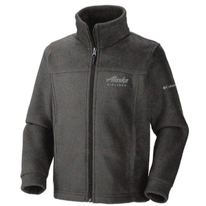 Youth Columbia Alaska Airlines Flanker Fleece