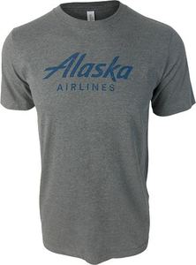 Unisex T-Shirt Short Sleeve Alaska Airlines