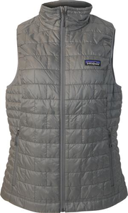 Women's Patagonia Nano Puff Vest (Wordmark on Back)