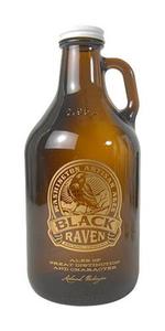 Black Raven 32 oz Growlette