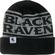 Black Raven Cuff Beanie image 1