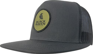 Black Raven Trucker - Flat Bill