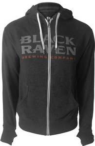 Black Raven Zip Hoody