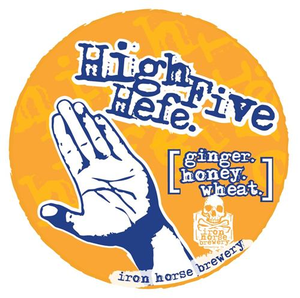 High Five Hefe Tap Stickers (25 pack)
