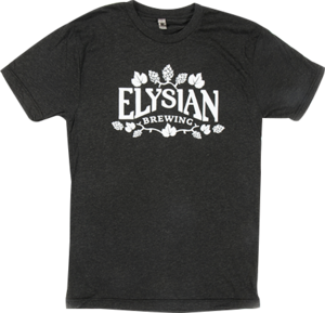 Elysian Tee with Glow-in-the-Dark Print