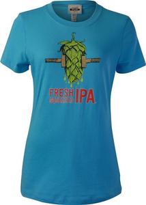 Women's Beer Logo T-Shirt: Fresh Squeezed IPA