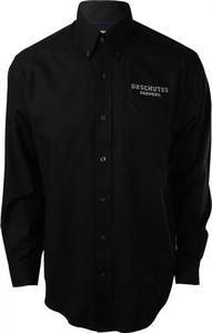 Deschutes Brewery Long-Sleeve Fine Twill Button-Up