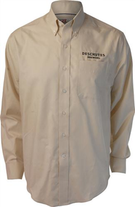 Deschutes Brewery Long-Sleeve Fine Twill Button-Up