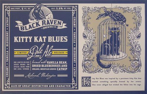 "11"" x 17"" Kitty Kat Blues Poster"