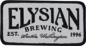 "4.86""  x  2.5"" Elysian Woven Patch"