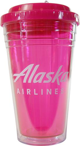 Alaska Airlines Flip Flop Tumbler 18 oz