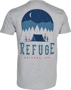 Beer Logo Tee: Refuge IPA