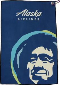 Eskimo Golf Towel with Carabiner
