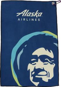 Eskimo Golf Towel with Carabiner