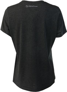 Ladies TriBlend Tee - Black Ink