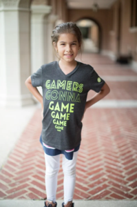 Youth Gamers Gonna Game V-Neck Tee