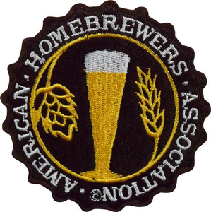 "American Homebrewers Association 3"" Iron Patch"