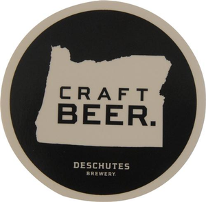 "Deschutes Brewery 3"" Sticker - Craft Beer"