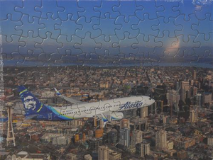 100 Piece Puzzle - Seattle