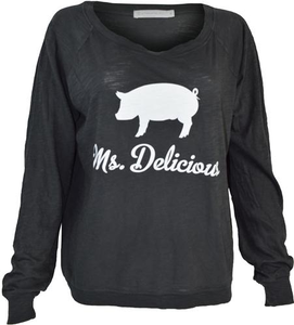 Ms. Delicious Slouchy Tee - Women's
