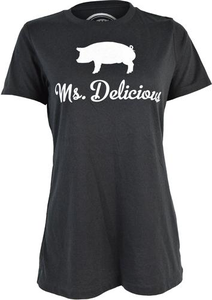Ms. Delicious Tee (No Back Print) - Women's