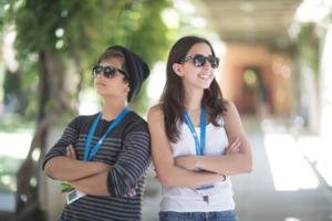 iD Tech Two-Tone Sunglasses