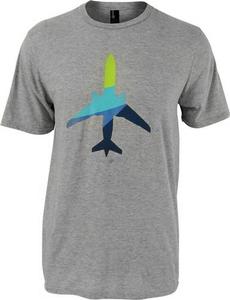 Alaska Airlines Aura Plane T-Shirt