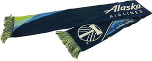 Custom Timbers & Alaska Airlines HD Knit Scarf